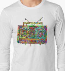 Boom Box Long Sleeve T-Shirt