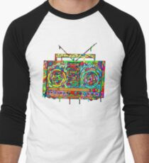 Boom Box Men's Baseball ¾ T-Shirt