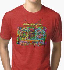 Boom Box Tri-blend T-Shirt