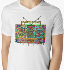 Boom Box Men's V-Neck T-Shirt