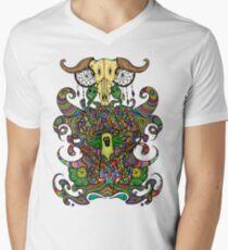 Poppy Seeds & Cannabis Mens V-Neck T-Shirt