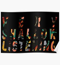 Very Shallow Listening Poster