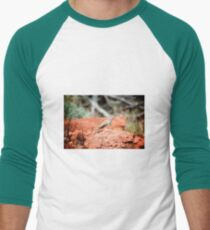 Desert Reptile Men's Baseball ¾ T-Shirt