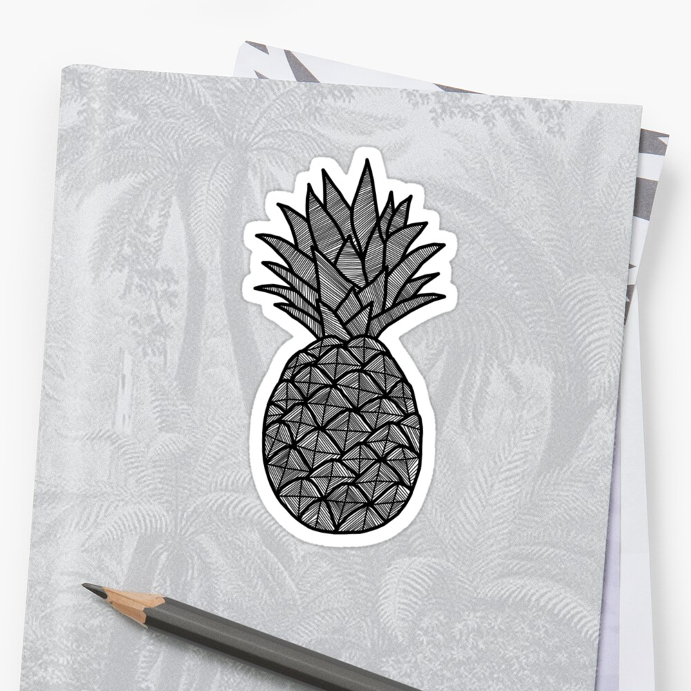MINIMAL - PINEAPPLE by tosojourn