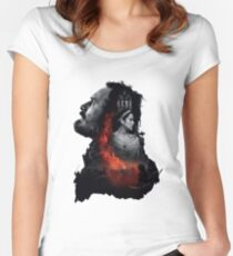 Hail Macbeth! Women's Fitted Scoop T-Shirt