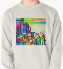 Rainbow Houses Pullover