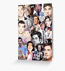John Mulaney collage Greeting Card
