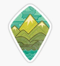 Sea to Sky Sticker