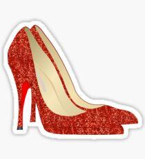 Oz ruby slippers Sticker