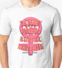Anti-Feminism Apparel - White Male Priveledge T-Shirt