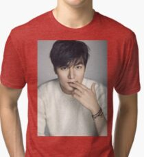 Lee Min Ho 9 Tri-blend T-Shirt