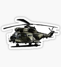 Puma Helicopter Sticker