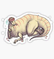 Instaguanodon Sticker