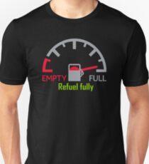 Speedometer full refuel fully Unisex T-Shirt