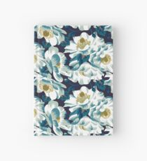 Mount Cook Lily - dark colourway Hardcover Journal