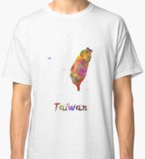 Taiwan in watercolor Classic T-Shirt