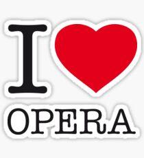 I ♥ OPERA Sticker