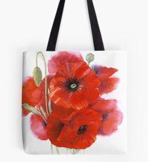 Poppy posy Tote Bag