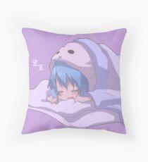 Sleeping soundly Throw Pillow