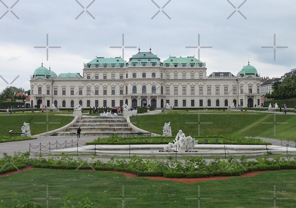 Upper Belvedere, Vienna Austria by Mythos57
