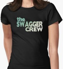 The swagger Womens Fitted T-Shirt