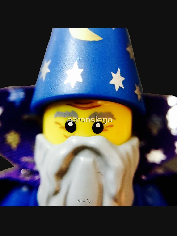 Lego Wizard minifigure by aaronslego