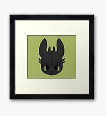 Toothless Framed Print