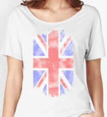 Union Jack - Vintage Look Women's Relaxed Fit T-Shirt