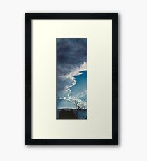 Storm Front, January 30 Framed Print