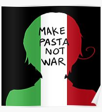 Make Pasta Not War Poster