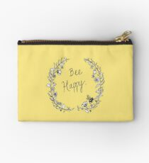 Bee Happy Zipper Pouch