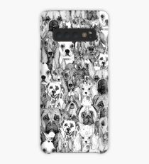 christmas dogs Case/Skin for Samsung Galaxy