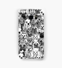 christmas dogs Samsung Galaxy Case/Skin