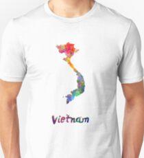 Vietnam in watercolor Unisex T-Shirt