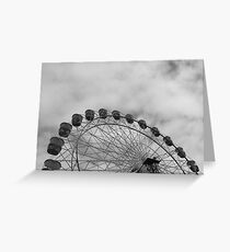 Metal Wheel Greeting Card
