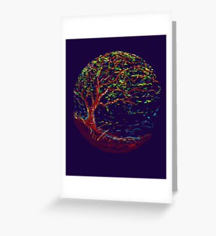 impressionist tree Greeting Card