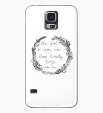Peter Pan - One Girl Wreath Case/Skin for Samsung Galaxy