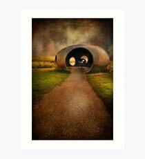 Burnley Panopticon - The Atom Art Print