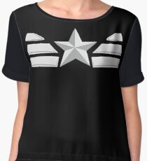 Captain oh my captain. Chiffon Top