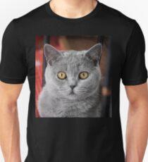 British Shorthair Cat Unisex T-Shirt
