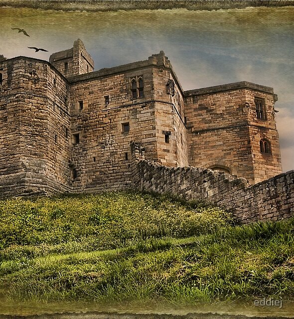Warkworth Castle Northumbria by eddiej