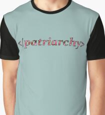flower </patriarchy> Graphic T-Shirt