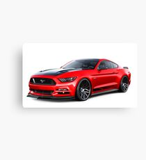 Lienzo Ford Mustang GT 2015