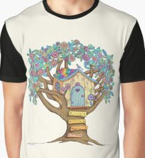 Live Simply, Love Trees Graphic T-Shirt