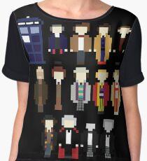 Pixel Doctor Who Regenerations Chiffon Top