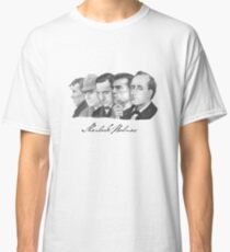 Sherlock Holmes Through the Years Classic T-Shirt