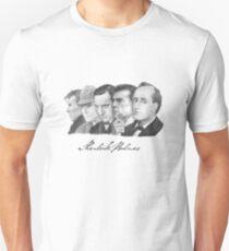 Sherlock Holmes Through the Years Unisex T-Shirt