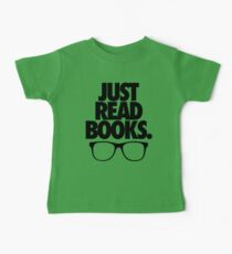JUST READ BOOKS. Baby Tee
