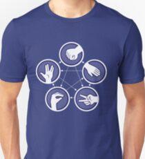paper scissors stone Unisex T-Shirt