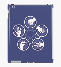 paper scissors stone iPad Case/Skin